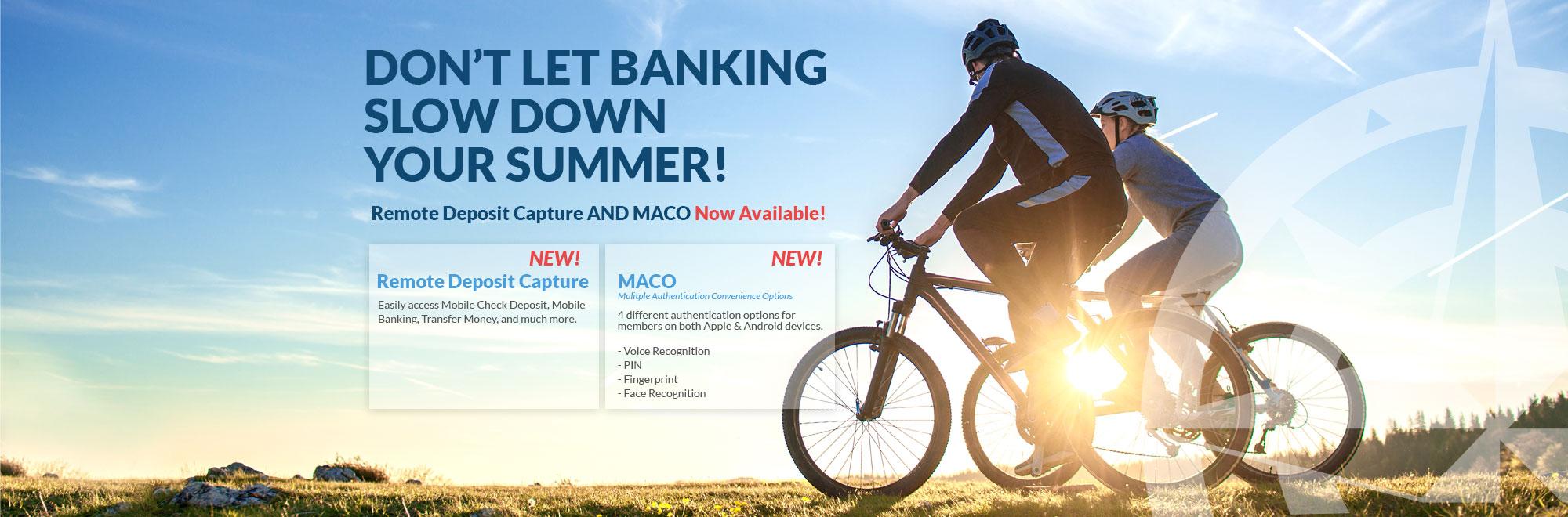 Remote Check Deposit/MACO